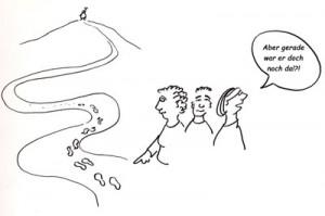 Karikatur Teamwork